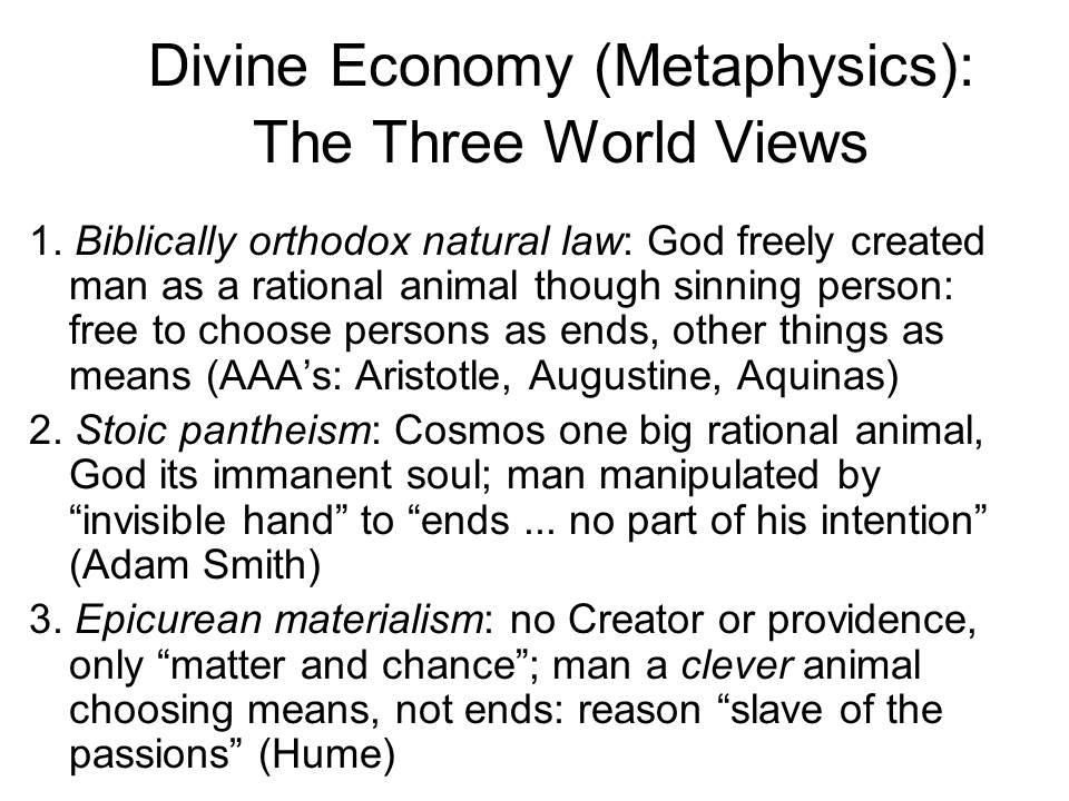 economic essay nature science significance
